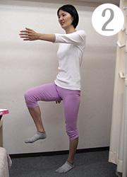 足踏み運動(2)