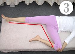 股関節整復運動(3)