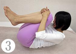 ひざ抱え運動(3)
