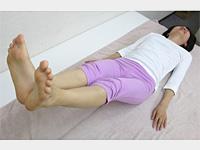 バレリーナひざ締め運動