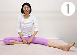開脚運動(1)