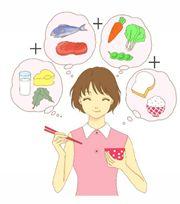 食事療法のイラスト